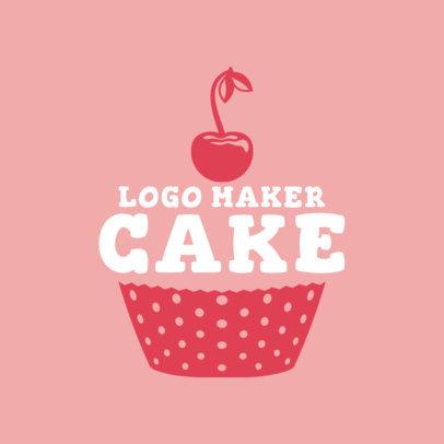 Cupcake Logo Maker 1114d