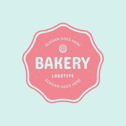 Pink Bakery Logo Maker 1115c