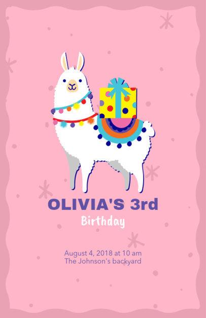 Online Flyer Maker for Kids Birthday Party 223b