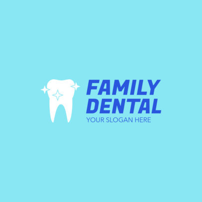 Online Logo Maker for a Family Dental Center 1026e