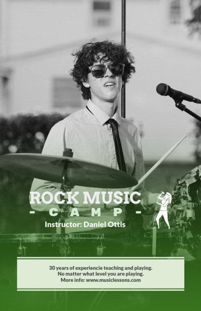 Rock Camp Online Flyer Maker 157c