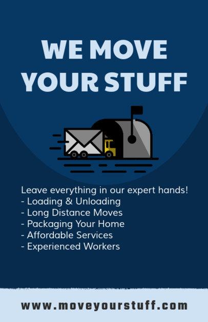 Moving Company Design Templates To Make Beautiful Designs Online - Moving company flyer template