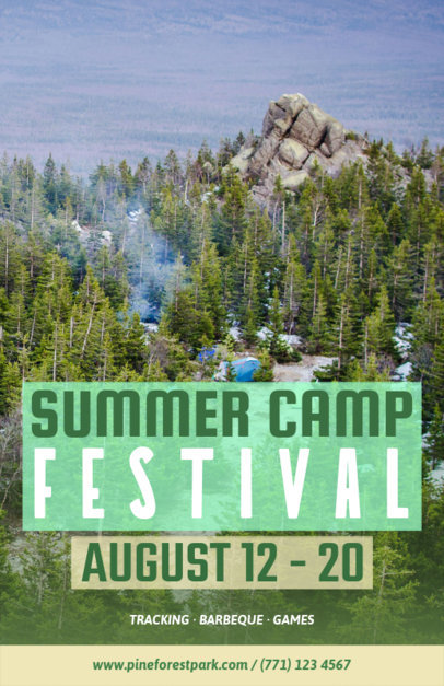 flyer template for summer camp flyers