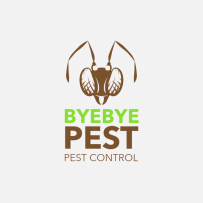 Logo Maker for Pest Control Services 1254