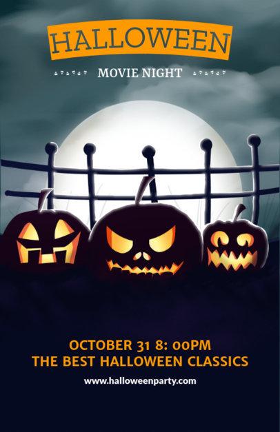 Horror Party Online Flyer Maker 121e