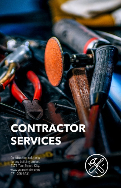 Contractor Online Flyer Maker 245b