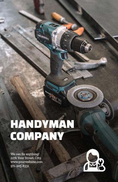 Handyman Online Flyer Maker 245e