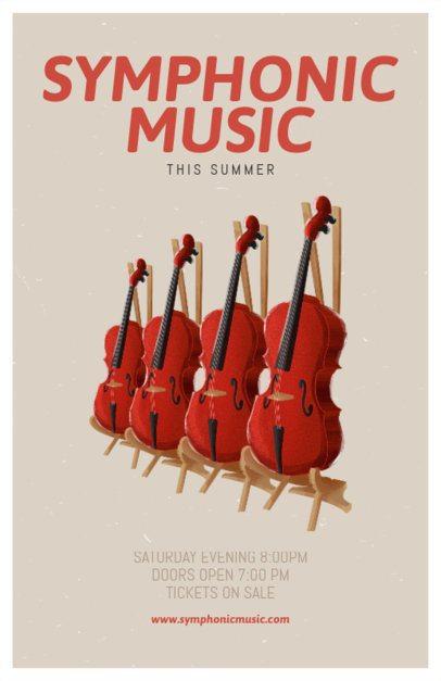 Violin Online Flyer Maker 192e