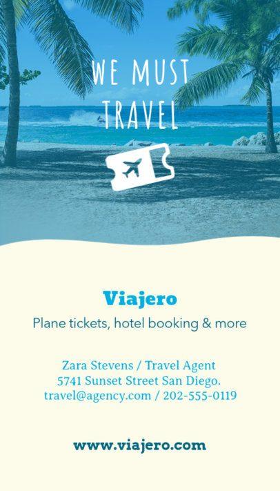 Traveler Business Card Maker 166a