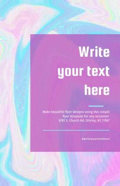 Artsy Event Online Flyer Maker 275c