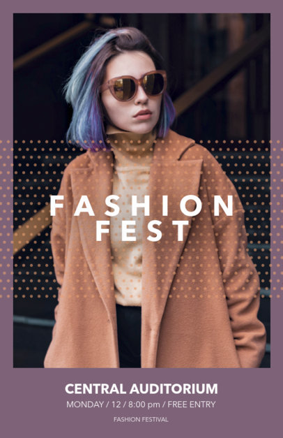 Fashion Week Online Flyer Maker 167d