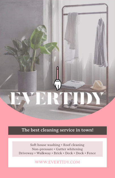 Cleaning Service Online Flyer Maker 271a