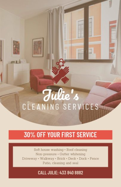 Housekeeping Online Flyer Maker 271c