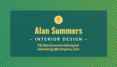 Placeit interior designer business card maker interior designer business card maker colourmoves