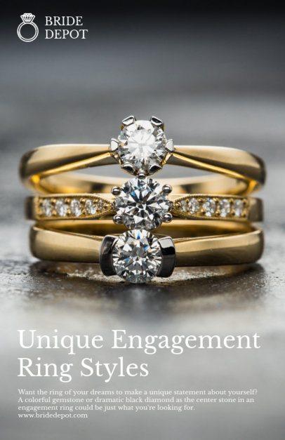 Engagement Ring Online Flyer Maker 304b