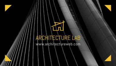 Business Card Maker for an Architecture Firm 303b