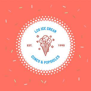 Ice Cream Logo Maker for Ice Cream Shops 1262