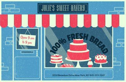 Online Flyer Maker for Bakeries 310