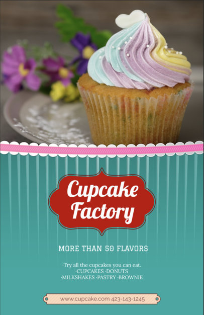 Cupcake Shop Flyer Maker 379