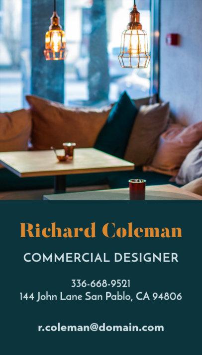 Online Business Card Maker for Bar Decoration Designer 327e
