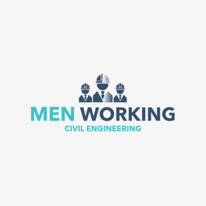 Civil Engineer Logo Maker 1211a