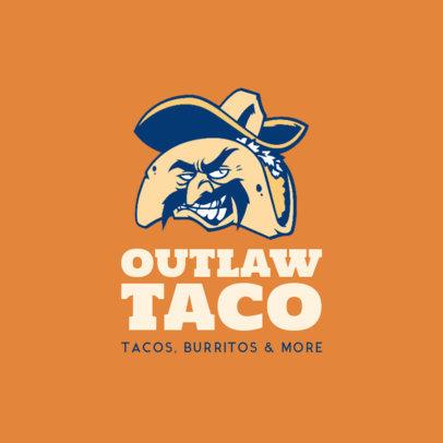 Taco Restaurant Logo Maker 1226e