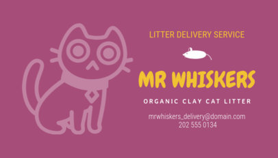 Business Card Maker for Pet Businesses 298b