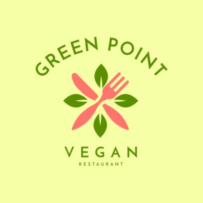 Restaurant Logo Maker for Vegan Restaurants 1258