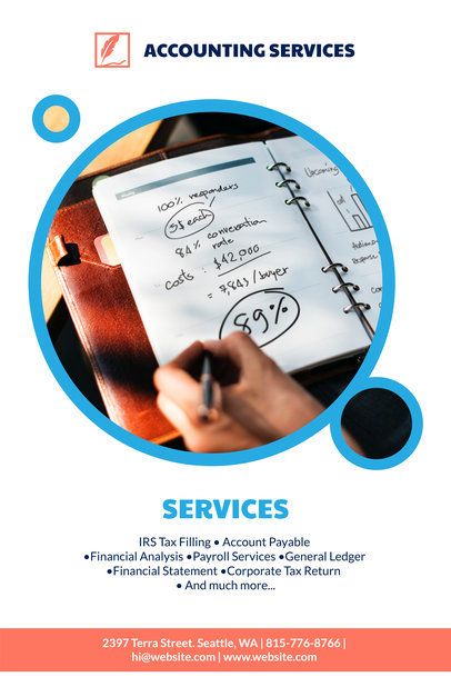 placeit online flyer maker for tax advisors