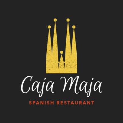 Restaurant Logo Maker for Barcelona's Tapas Restaurant 1223e