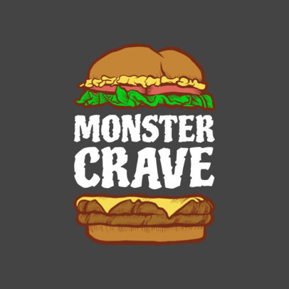 Burger Logo Maker with Burger Graphics 1233d