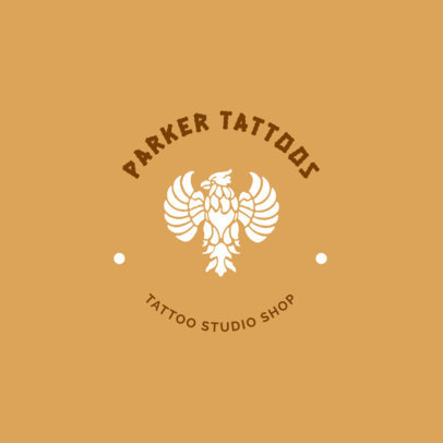 Tattoo Artist Logo Maker 1247c