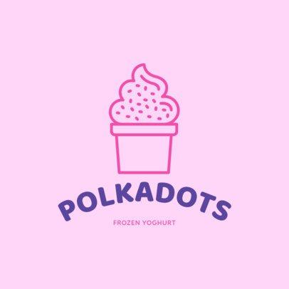 Dessert Logo Maker 1240b