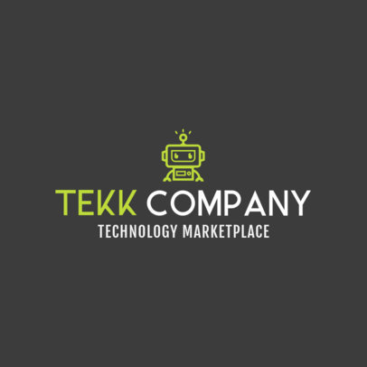 Online Logo Maker for Tech Stores 1252d