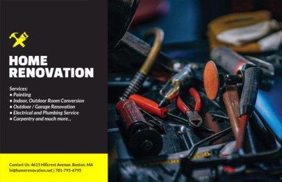 Online Flyer Maker for a Home Renovation Business 356a