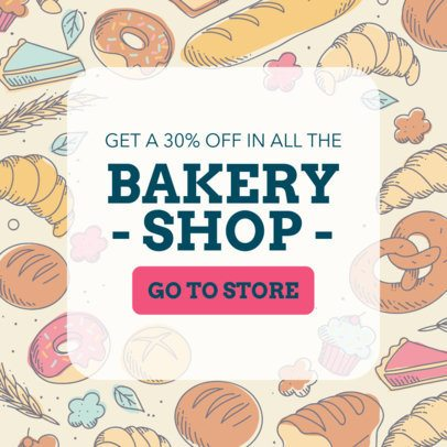 Banner Maker for a Bakery  378