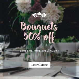 Online Banner Maker Wedding Florists 366a