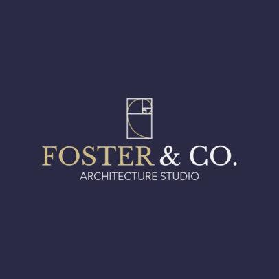 Architecture Office Logo Maker 1210b
