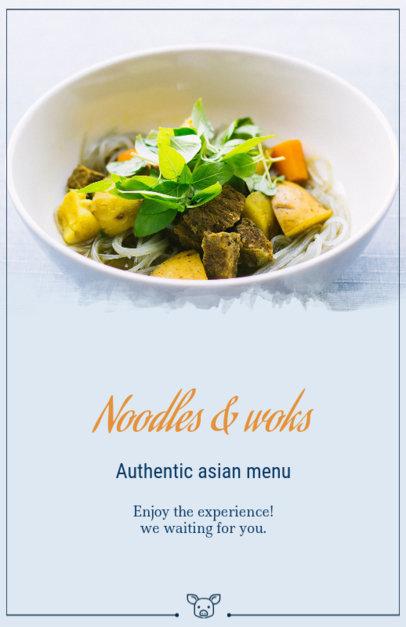 Flyer Maker for Asian Food Restaurants 363d