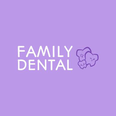 Dentist Logo Maker with Tooth Graphics 1026e