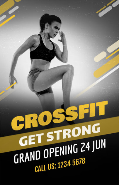 Crossfit Online Flyer Maker 353d