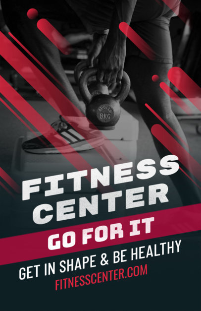 Fitness Center Online Flyer Maker 353e