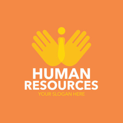 Human Resources Consulting Logo Maker 1212e