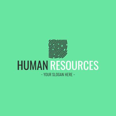 Recruitment Agency Logo Maker 1212e