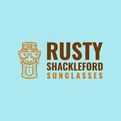 Sunglasses Brand Logo Maker 1256c