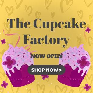 Online Banner Maker for Cupcake Shop Promos 383b