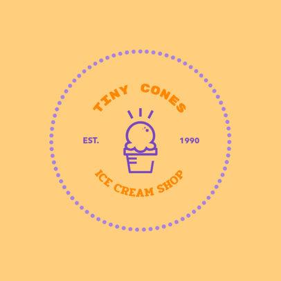 Logo Maker for Frozen Yogurt Shops 1262d