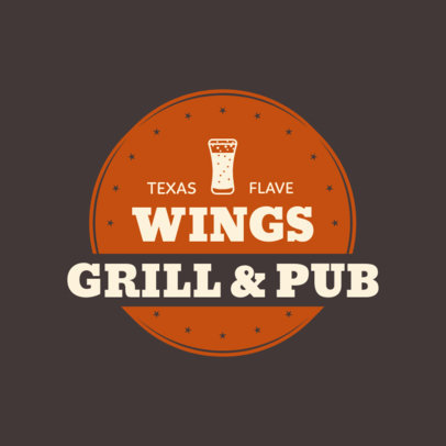 Restaurant Logo Maker for a Texas Grillhouse 1228d
