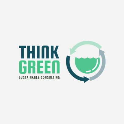 Online Logo Maker for Sustainability Consultancies 1055d