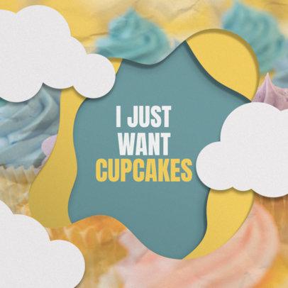 Online Banner Maker for Cupcake Shops 308a